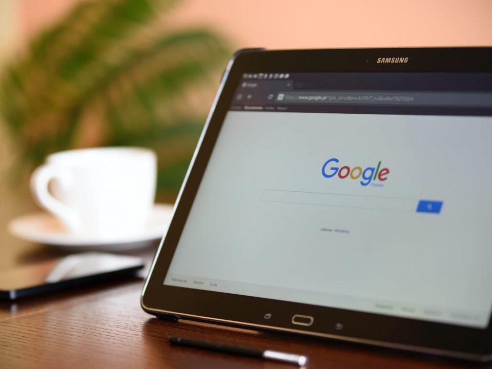 tablet con google