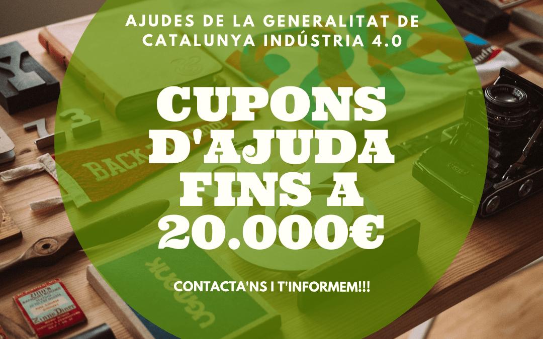ajudes Generalitat per a empreses