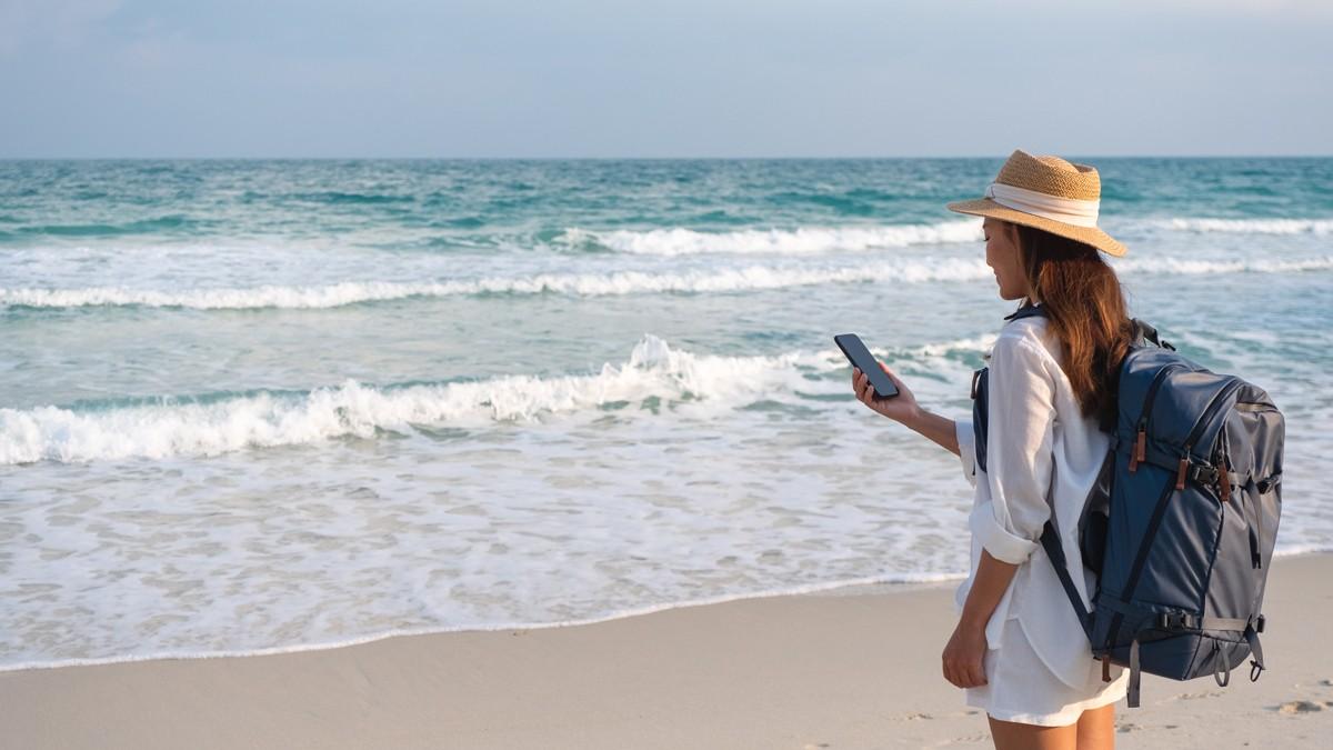 vacaciones playa tecnologia crm